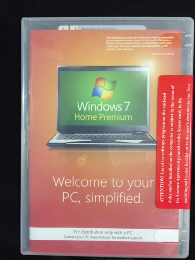 Microsoft Windows 7 Home Premium SP1 32-bit FULL VERSION DVD-ROM w/Product  Key NEW SEALED