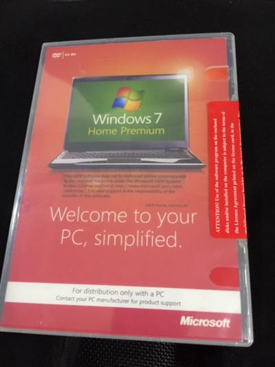 Microsoft Windows 7 Home Premium SP1 64-bit FULL VERSION DVD-ROM w/Product  Key NEW SEALED