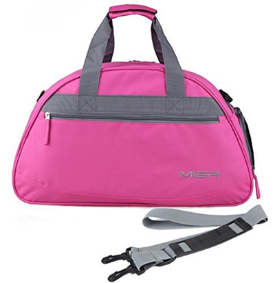 a095424e125c (MIER) MIER 20 Sports Gym Bag Travel Duffel Bag with Shoes Compartment for  Women