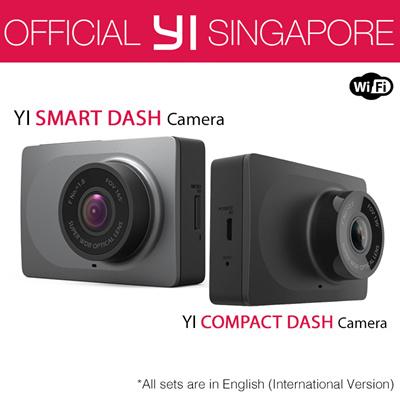 Mijia[Official Xiaoyi SG]★English International Version XiaoYi YI Dash  Camera Car DVR XiaoMi★12 Months W