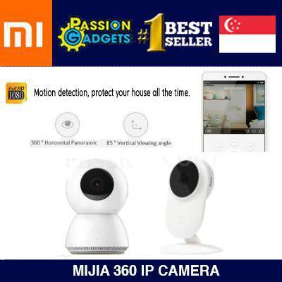 Mijia★XIAOMI Mijia 360 IP Camera 1080P Cam spycam CCTV Support IOS Android  Wireless Control Webcam Xiaoyi