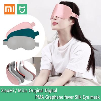 MijiaXiaomi PMA Fast Heating Silk Eye Mask Smart Temperature Anti-Wrinkles  Eye Patch Eye Massager Fatigue