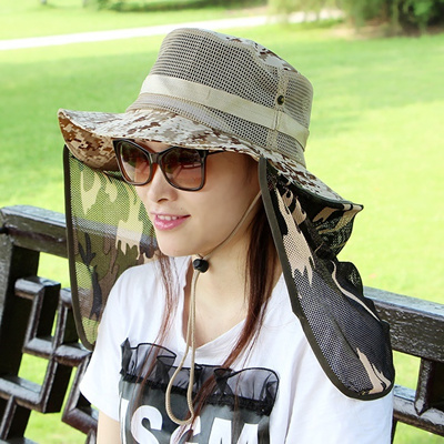 fba5be4d63f Qoo10 - Summer Hat Mask   Fashion Accessories