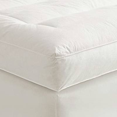 Qoo10 Millsave 4 Full Goose Down Mattress Topper Featherbed