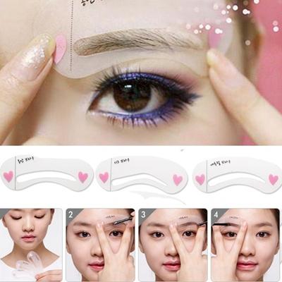 Qoo10 mini brow class drawing guide eyebrow card shaper template mini brow class drawing guide eyebrow card shaper template stencils helper maxwellsz