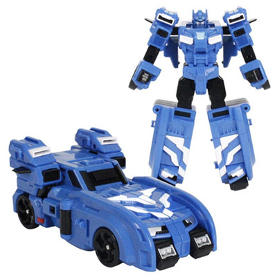 MINI FORCE 2018 New Version Miniforce X BOLTBOT Transforming Commando  X-Machine Car from Robot Blue
