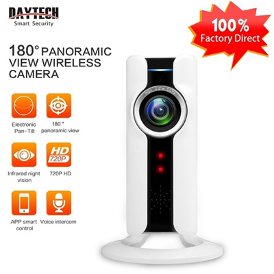 Mini Wifi VR IP Camera Wireless 720P HD Smart 180 Panoramic Network CCTV  Security Camera Home Protec