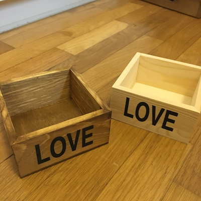 Qoo10 Mini Wooden Box Furniture Deco