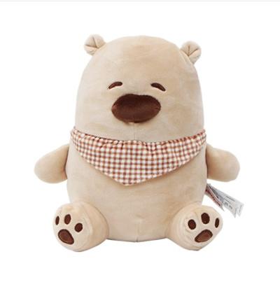 Qoo10 Cute Brown Bear Doll Toys