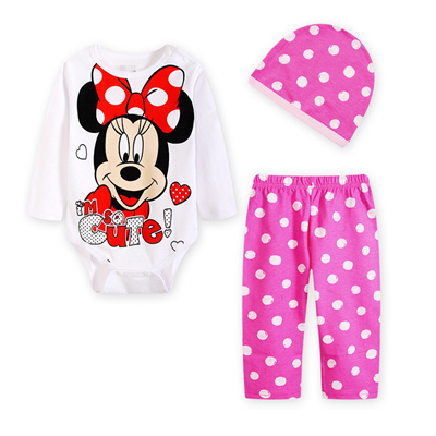 54ea77601be0 Qoo10 - Minnie Mouse Romper   Kids Fashion
