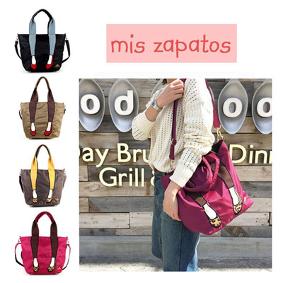 Mis Zapatos Bags Tote Bag Shoulder Backpack 3 Way