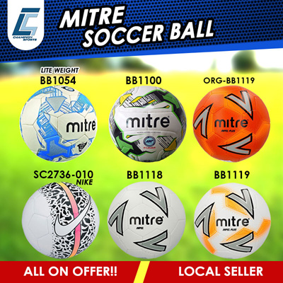 ba44cde5d LATEST COLLECTION MITRE NIKE SOCCER BALL ALL ON OFFER IMPEL SLEAGUE  TRAINING SIZE 5 and