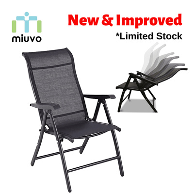 Magnificent Miuvofoldable Recliner Chair Foldable Relax Chair Outdoor Chair Steel Adjustable Recline Positions Unemploymentrelief Wooden Chair Designs For Living Room Unemploymentrelieforg