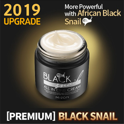 Resultado de imagem para MIZON Black snail all in one cream - 75ml