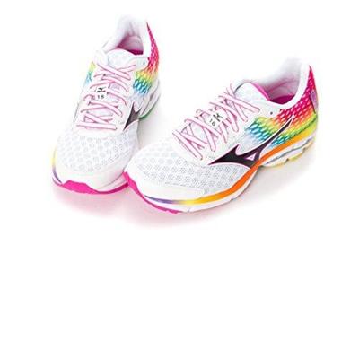 official photos 6d4f1 36a11 Qoo10 - MIZUNO WAVE RIDER 18 Osaka Marathon Rainbow Women s ...