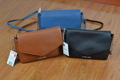 ecbe1c83727 Qoo10 - mng black blue brown simple faux leather crossbody small ...