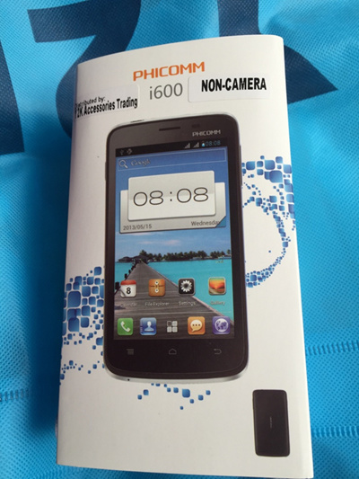 Non-Camera Android Mobile Phone Smartphone Phicomm Non Camera iNO Scout  Huawei LG Sghitech