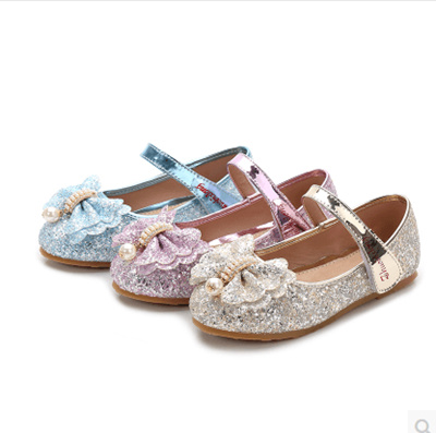 1ac1550a4ffb1 Models girls shoes crystal shoes Korean rhinestone little girl princess  shoes