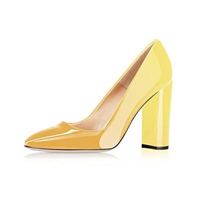 2de8696c7cb Qoo10 - (Modemoven) Modemoven Women s Sexy Patent Leather Round Toe Block  Heel...   Shoes