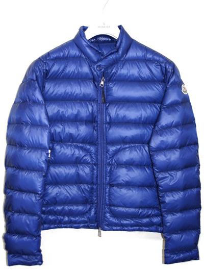 Moncler MONCLER 【ACORUS Akoras】 Men's Soft Jacket Down Jacket BLUE (Blue) 4135499