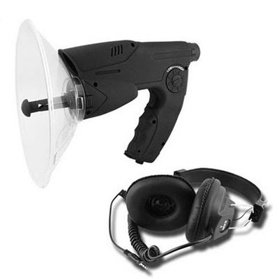 Monocular Bionic Ear 100M Sound Amplifier Parabolic Mic Voice Bug Orbitor  Electronic Listening Devic