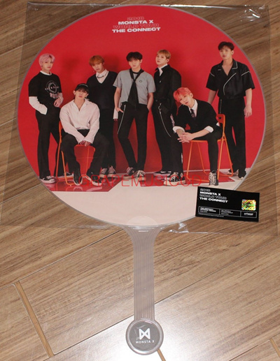 MONSTA X 2018 WORLD TOUR THE CONNECT in SEOUL OFFICIAL GOODS MONSTA X IMAGE  PICKET FAN