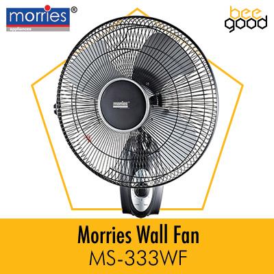 Qoo10 Morries Wall Fan Major Appliances