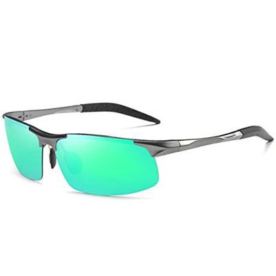 35b00e245df45 Qoo10 - MOTELAN Mens Polarized Sunglasses for Driving Fishing Golf Metal  Glass...   Fashion Accessor.