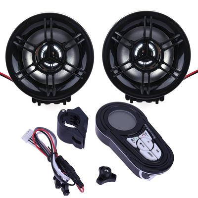 Qoo10 Motorcycle Audio System Fm Radio Stereo Amplifier Speaker