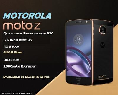 Qoo10 - Motorola Moto Z : Mobile Devices