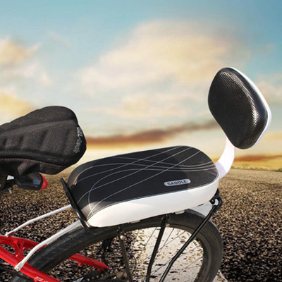 Mountain Bike Rear Seat Cushions Padded Shelf Seat Pad Electric Board With Long Mat