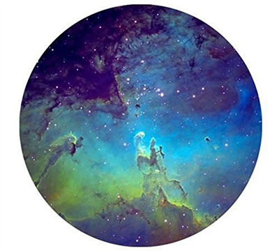 f79d16da5e18b Mouse Pads Galaxy Nebula Space Starry Star Sky Night Round Non-Slip Rubber  Mousepad Gaming Mouse Pad
