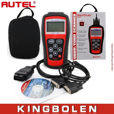 MS509 Autel MaxiScan OBDII/EBOD Scanner CAN BUS Code Reader Car Diagnostic  Tool