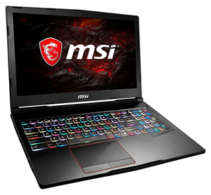 MSI GE63VR 7RD RAIDER i7-7700HQ 8GB GTX1050Ti 4GB 15 6 Gaming Laptop
