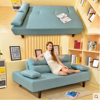 Qoo10 Multi Functional Lazy Sofa Bedroom Sofa Folding Small Size