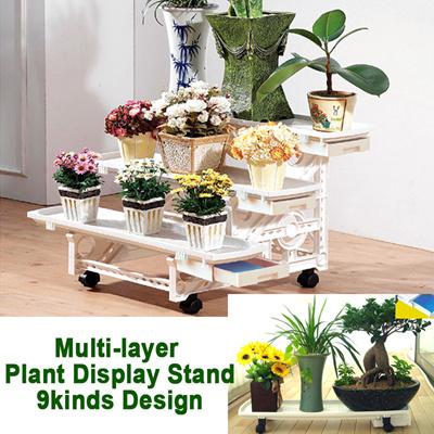 qoo10 plant display stand tools gardening. Black Bedroom Furniture Sets. Home Design Ideas