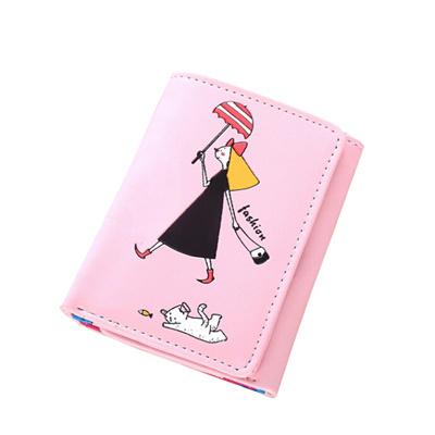 8819dcbdc Qoo10 - Multifunction Umbrella Lady Printing Short Wallets 3 Fold Fashion  Cart... : Bag & Wallet