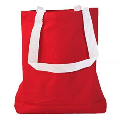 38940777e Qoo10 - Multipurpose Cotton Canvas Tote Bags with White Handles (Small  Medium ... : Men's Bags & Sho.