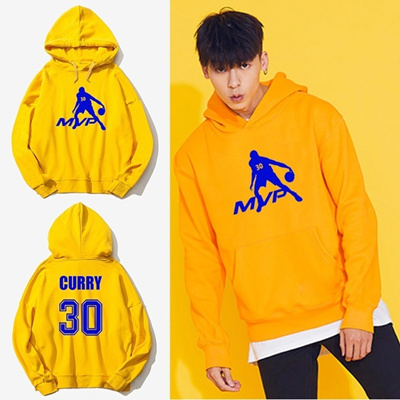 sale retailer 78e32 5a455 MVP Stephen Curry Basketball Jersey Fashion Men s Hoodies Sweatshirt  Breathable Casual Long Sleeve M