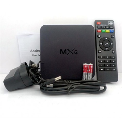 MXQ Android Box Smart TV Online Quad Core IPTV Wifi KODI free