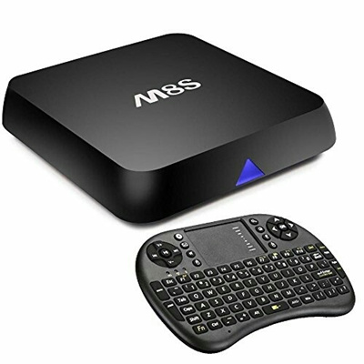MXQ PRO 4K OR M8S Android TV Box with Kodi Fully Loaded and unlimited trial  of Premium IPTV