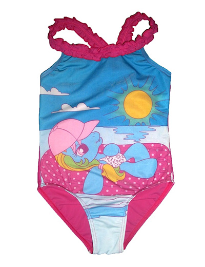 qoo10 pony swimsuit kids fashion