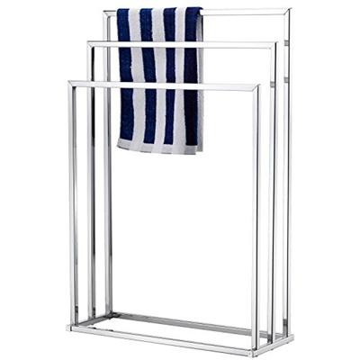 Qoo10 Mygift Freestanding Towel Rack