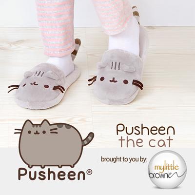 eaaaae1e0ee0 Pusheen Gund Cozy Plush Slippers Footwear