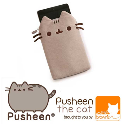 the latest 1cf96 f3a55 mylittleBROWNIEPusheen Gund Mini Tablet Plush Case Cover
