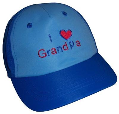 25d84bf1178 Qoo10 - N ice Caps Boys I Love Grandpa Embroidered Ball Cap (2-3 yrs   blue  ro...   Kids Fashion