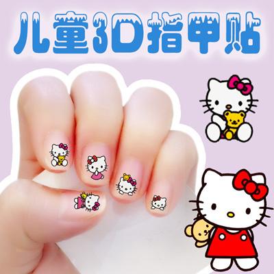 Qoo10 Nail Art Stickers Toxic Environmentally Friendly Children S