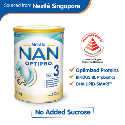 NANNestlé® NAN® OPTIPRO® 3 Growing Up Milk 1 8kg
