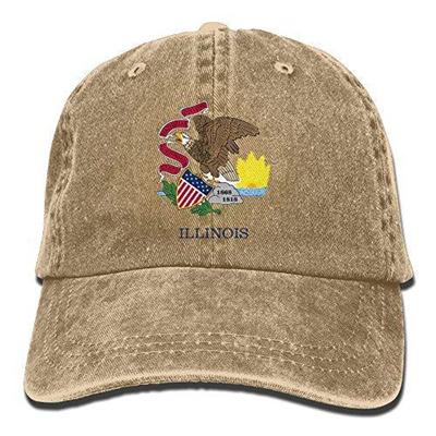 40d9c2745cd Qoo10 - (NaNa Home) Accessories Hats DIRECT FROM USA NaNa Home Illinois  Flag F...   Fashion Accessor.