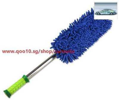 Nano Microfiber Duster Car Wax Trailers Cleaning Mop With A Dust Brush Car Wash Tool